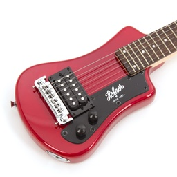 Hofner Shorty - Red (Non CITES)-4