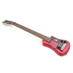 Hofner Shorty - Red (Non CITES)-5