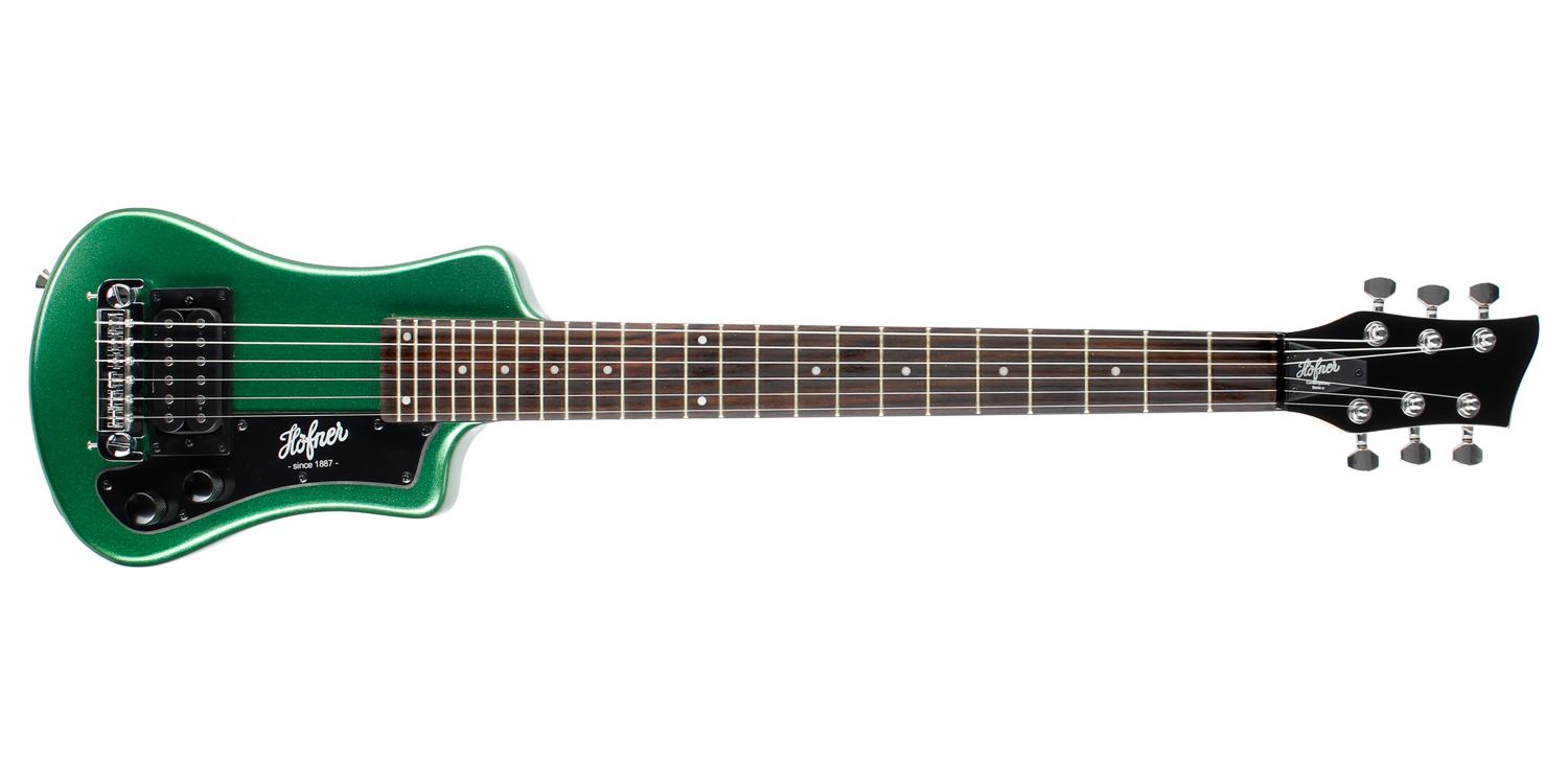 Hofner Shorty - Cadillac Green (Non CITES)-1