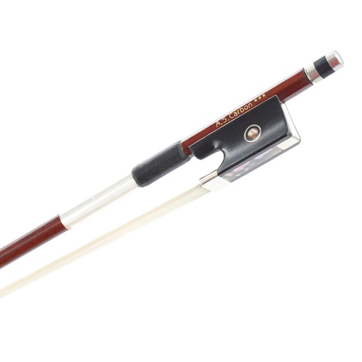 [AS-56-V4/4] Carbon and Pernambuco Violin Bow AS-56